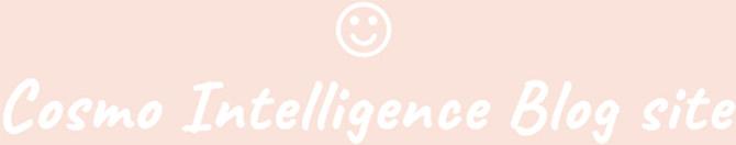 Cosmo Intelligence Blog site